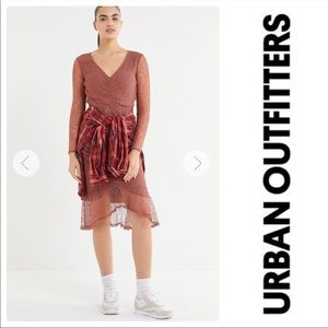 Urban outfitters partially lined dress